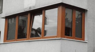 Zabudowy Balkonow Tarasow Okna Pcv Krakow Alu Dark